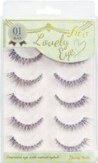 Make FLE-981 FiT; and Lovely Eye pure corner of the eye Rich false eyelashes (4537715989918)