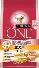 ピュリナワン ドッグ ほぐし粒入り 1〜6歳 成犬用 チキン 2.1KG (4902201206556)