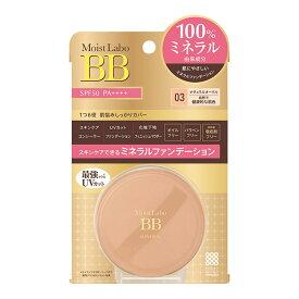 明色化粧品 モイストラボ BBミネラルファンデーション ナチュラルオークル 6G SPF50/PA++++ ( 4902468232183 )