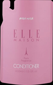 【熊野油脂】エルメゾン ELLE MAISON ノンシリコン コンディショナー 詰替 400ML ( 4513574020504 )