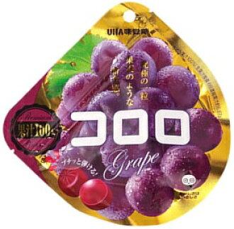 매진 UHA 입맛 당 コロロ 포도 40g× 6 점 세트 농후 하 고 육즙 맛 (식품 · 과자 · 구미) (4902750633155)