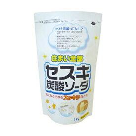 【大容量】ロケット石鹸 セスキ炭酸ソーダ 大 1.0KG (界面活性剤不使用で安心な洗浄剤)( 4903367304513 )