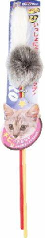 ドギーマンじゃれ猫 あそび 2本入り ( ネコ用おもちゃ・玩具 ペット用品) ( 4976555842623 )