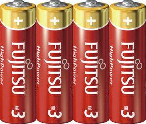 【勤労感謝の日セール!】 【FDK】【FUJITSU】富士通 アルカリ乾電池 単三形 4本入りパック HighPower LR6FH ( 4S ) ( 4976680274504 )