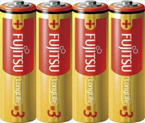 【勤労感謝の日セール!】 【FDK】富士通 アルカリ乾電池 単三形 4本パック LongLife LR6FL ( 4S ) (単三電池4本)( 4976680276805 )