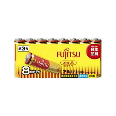 【勤労感謝の日セール!】 富士通 LR 6FL ( 8S ) スタンダード アルカリ乾電池 単3形 8本パック シュリンクパック ( 単三乾電池 8本 ) ( 4976680277109 )