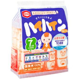 [Free Delivery] Kameda Seika  Haihain 53g×12packs (children, snacks, rice crackers)(4901313067147)