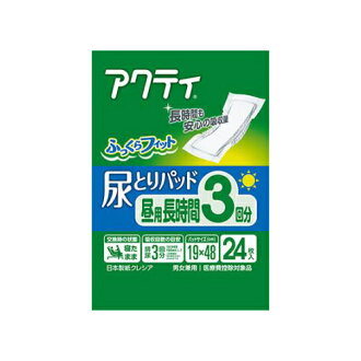 Japan paper Crecia Activision urine taking the pad for the day long three minutes absorption 24 pieces (4901750804749)