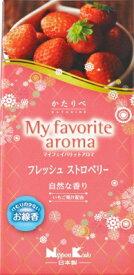 日本香堂 かたりべ My favorite aroma フレッシュストロベリー バラ詰 ( 仏事用お線香 ) ( 4902125264519 )