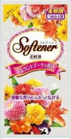 日本合成洗剤 フレグランスソフター エレガントブーケの香り つめかえ用 500ML(衣類用柔軟剤) ( 4904112828063 )