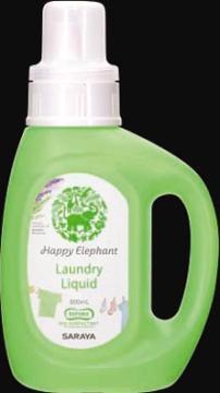 サラヤハツピーエレファント液体洗たく用本体800ML(4973512260322)