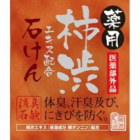 マックス 薬用 柿渋エキス配合 石けん 100g 医薬部外品 KTY (4902895039836)