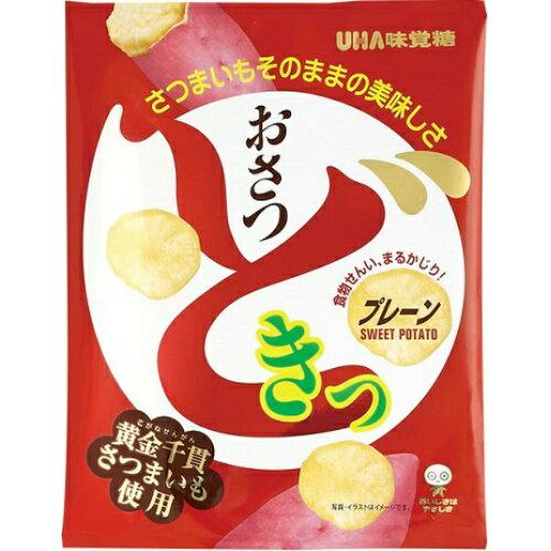 【 送料無料・まとめ買い×40 】 味覚糖 おさつどきっ プレーン 65g×40個セット (4970694258918)