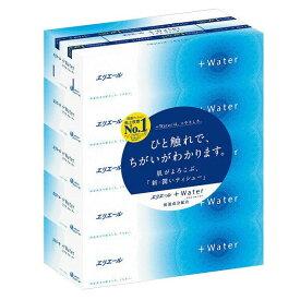 大王製紙 エリエール プラスウォーター 180組×5箱パック ( 保湿ティッシュ ) ( 4902011711400 )