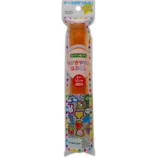 【送料無料・まとめ買い×3】ライフレンジ みがきやすいハブラシ LT−13 磨きやすい 歯ブラシ こども ケース付き ×3点セット(4560292169282)