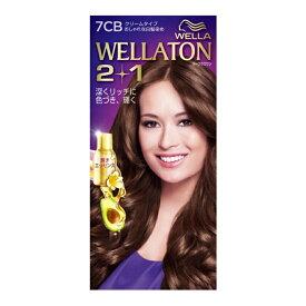 ウエラトーン ツープラスワン ( 2+1 ) クリーム 7CB ( 女性用白髪染めです ) ( 4056800251056 )