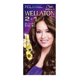 ウエラトーン ツープラスワン ( 2+1 ) クリーム 7CL ( 女性用白髪染め ) ( 4056800251117 )
