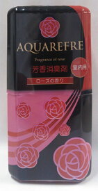リベロ 新アクアリフレ 室内用 芳香消臭剤 ローズ 400ML ( 4900480223783 )