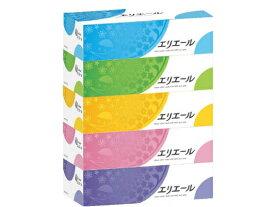 大王製紙 エリエール ティシュー 180組 ( 360枚 ) ×5箱パック ( ティッシュペーパー ボックス ) ( 4902011713619 )