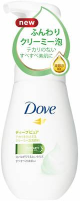 ユニリーバ ダヴ Dove ディープピュア クリーミー泡洗顔料 160ml ( 4902111736877 )※パッケージ変更の場合あり