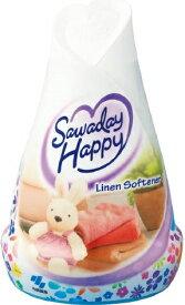 小林製薬 サワデーハッピー リネンソフナーの香り 150g ( 4987072040850 ) ( お部屋用芳香剤・匂い・消臭 )