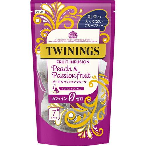 片岡物産 トワイニング ピーチ&パッションフルーツ 7袋