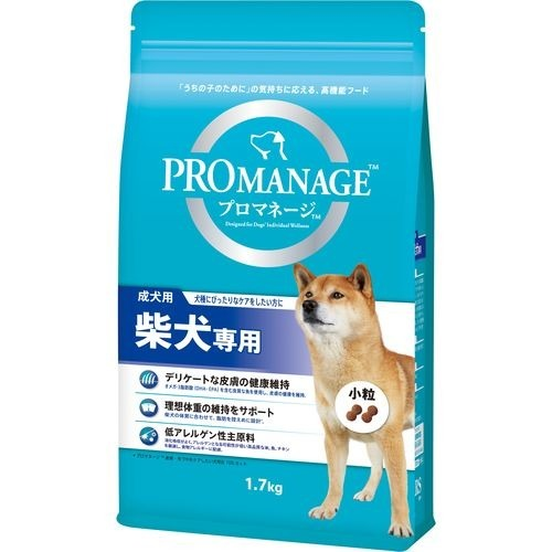 プロマネージ 柴犬専用 成犬用(1.7kg)