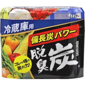 【まとめ買い×6】エステー 脱臭炭 冷蔵庫用 140g ( 交換時期の分かりやすい小さくなるゼリー状脱臭剤 ) ×6点セット(4901070111176)