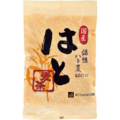 小谷穀粉 OSK はと麦茶 国産活性 8g×28袋
