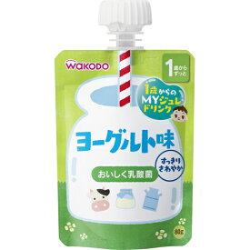 【送料無料・まとめ買い×10】和光堂 アクアライト 1歳からのMYジュレドリンク ヨーグルト味 80g