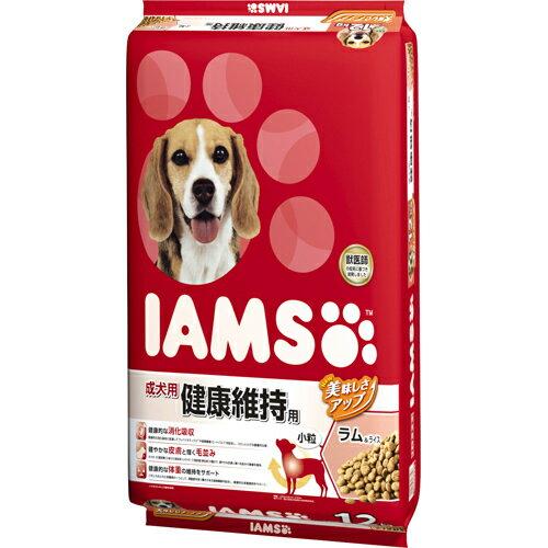 【メーカー直送・代引不可・同梱不可】 【マースジャパンリミテッド】 アイムス 成犬用 健康維持用 ラム&ライス 小粒 12kg