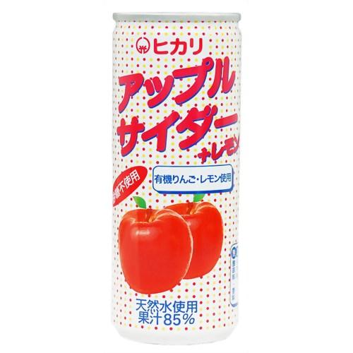 光食品 ヒカリ アップルサイダー+レモン 250ml