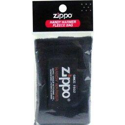 供MARUKAI公司ZIPPO jippohandiuoma使用的fleece袋(黑色)1個入