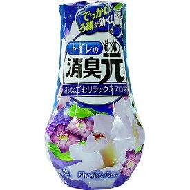 小林製薬 トイレの消臭元 リラックスアロマの香り 400ML 約1.5ヶ月〜3ヶ月間持続 ( 4987072029701 )