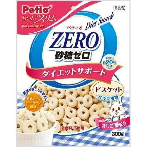 ペティオ おいしくスリム 砂糖ゼロ ダイエットサポート ビスケット ミルク風味(300g)