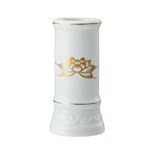 日本香堂 線香立て ミニ陶器白磁(4904872181149)