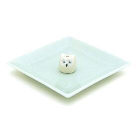 陶器香皿&ミミズク香立