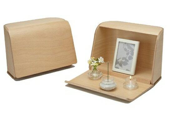 【送料無料】日本香堂 やさしい時間 祈りの手箱 ナチュラル ( 仏壇 仏具 お線香 ) ( 4902125924611 )