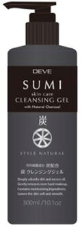 Kumano yushi DEVE (DIB) charcoal cleansing gel (contents: 300 ML) (4513574025325)