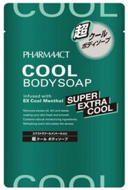 熊野油脂 PHARMAACT ( ファーマアクト ) 超クールボディソープ 詰替 ( 内容量:350ML ) ( 4513574025387 )