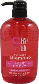 熊野油脂 椿油シャンプー 600ml 本体 ( ノンシリコンシャンプー ) ( 4582400830136 )