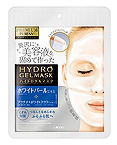 【無くなり次第終了】ウテナ プレサ ハイドロゲルマスク ホワイトパール 1枚 密着感を追求した浸透美容液マスク ( 4901234299115 )