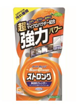 【送料無料・まとめ買い×3】UYEKI スーパーオレンジ ストロング 95g  台所洗剤 こびりついた汚れ専用×3点セット ( 4968909120068 )