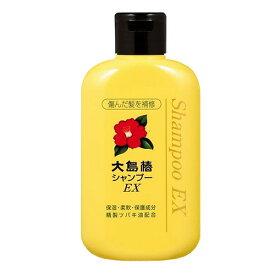 大島椿EXシャンプー 300ml 本体ボトル ( ツバキ油 きめ細やかな泡立ちのシャンプー ) ( 4970170140126 )