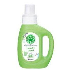 サラヤ ハツピーエレファント 液体洗たく用 本体 800ML ( 赤ちゃん肌着にも安心 衣類用洗濯洗剤 ) ( 4973512260322 )