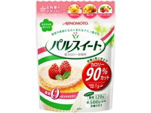 【送料無料・まとめ買い×10】味の素 パルスイート 袋入り 120g 砂糖と同じ甘さでカロリー90%カット・糖類ゼロ   ×10点セット(4901001139477)