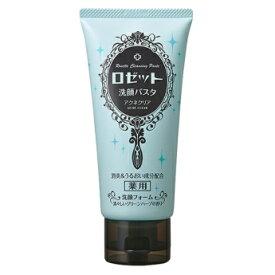 ロゼット ( ROSETTE ) 洗顔パスタ アクネクリア 医薬部外品 120g 清々しいグリーンハーブの香り ( 洗顔フォーム ) ( 4901696535578 )