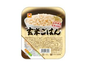 【まとめ買い×10】マルちゃん 玄米ごはん 160g×10点セット ( 計10食分 ) ※山形県産玄米だけを使って作った玄米ごはん ( 4901990166027 )