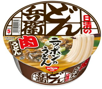 Nissin hamamol meat udon 90 g x 12 pieces set together buy a bargain! (Instant foods case sales)