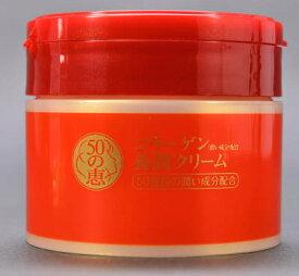 【送料無料・まとめ買い×5】ロート製薬 50の恵 コラーゲン配合養潤クリーム 90g 多機能ジェル・クリーム 心やすらぐバイタルハーブの香り×5点セット ( 4987241133192 )